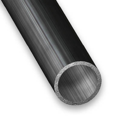 Round tube varnished cold pressed steel